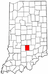 Image:Map of Indiana highlighting Brown County.png
