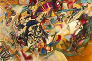 "In his own words, ""Composition VII"" was the most complex piece he ever painted (Kandinsky 1913)"