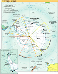 Territorial claims of Antarctica