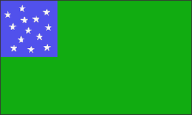 The flag of the Green Mountain Boys