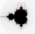 The whole Mandelbrot set