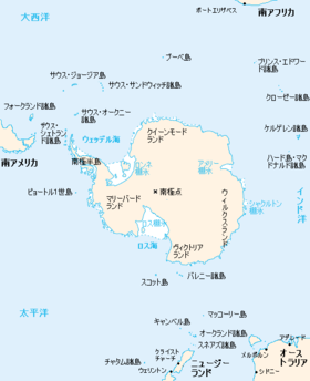 Region around Antarctica