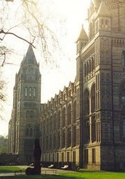 View of the Natural History Museum from the south east