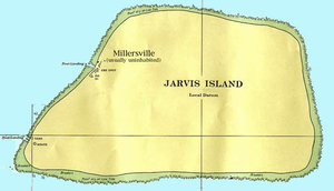 Map of Jarvis Island